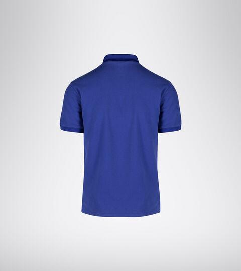 Tennis polo shirt - Men POLO STATEMENT SS BLUE REGISTA - Diadora