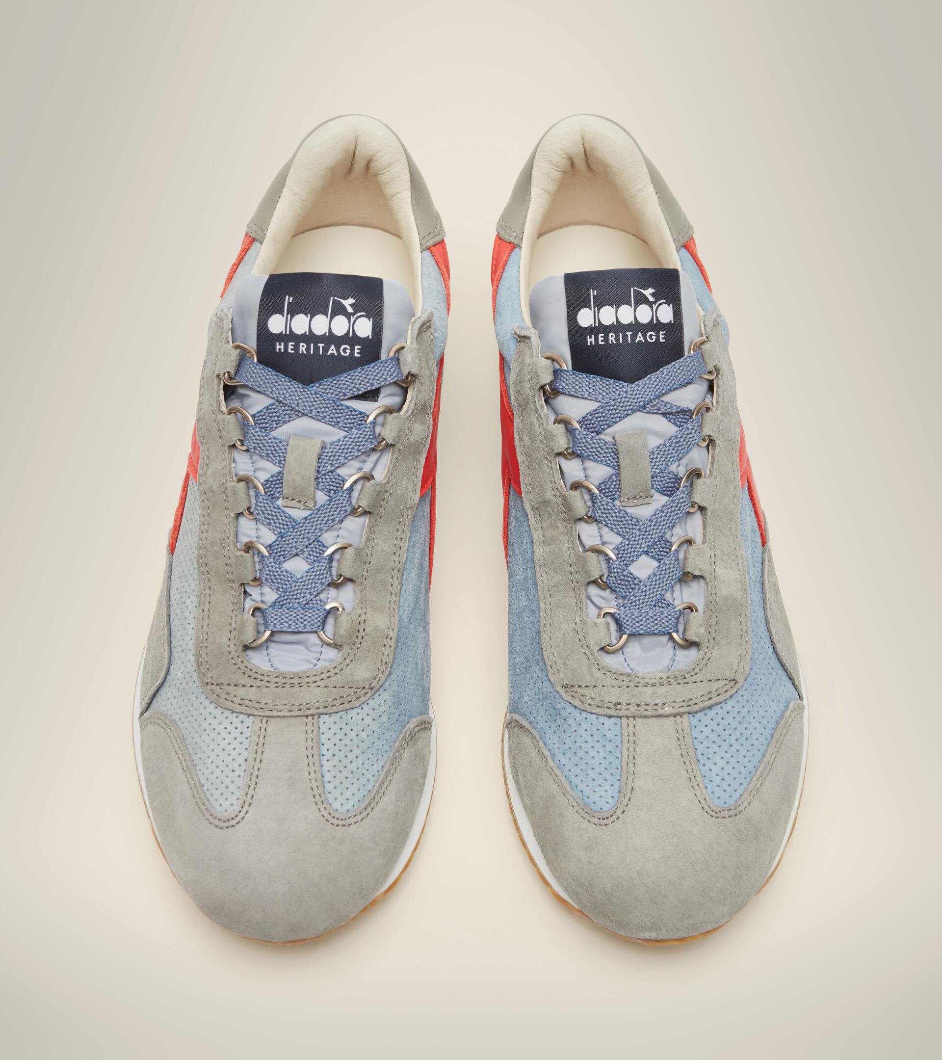 Footwear Heritage UNISEX EQUIPE SUEDE SW BLU DENIM SBIADITO Diadora
