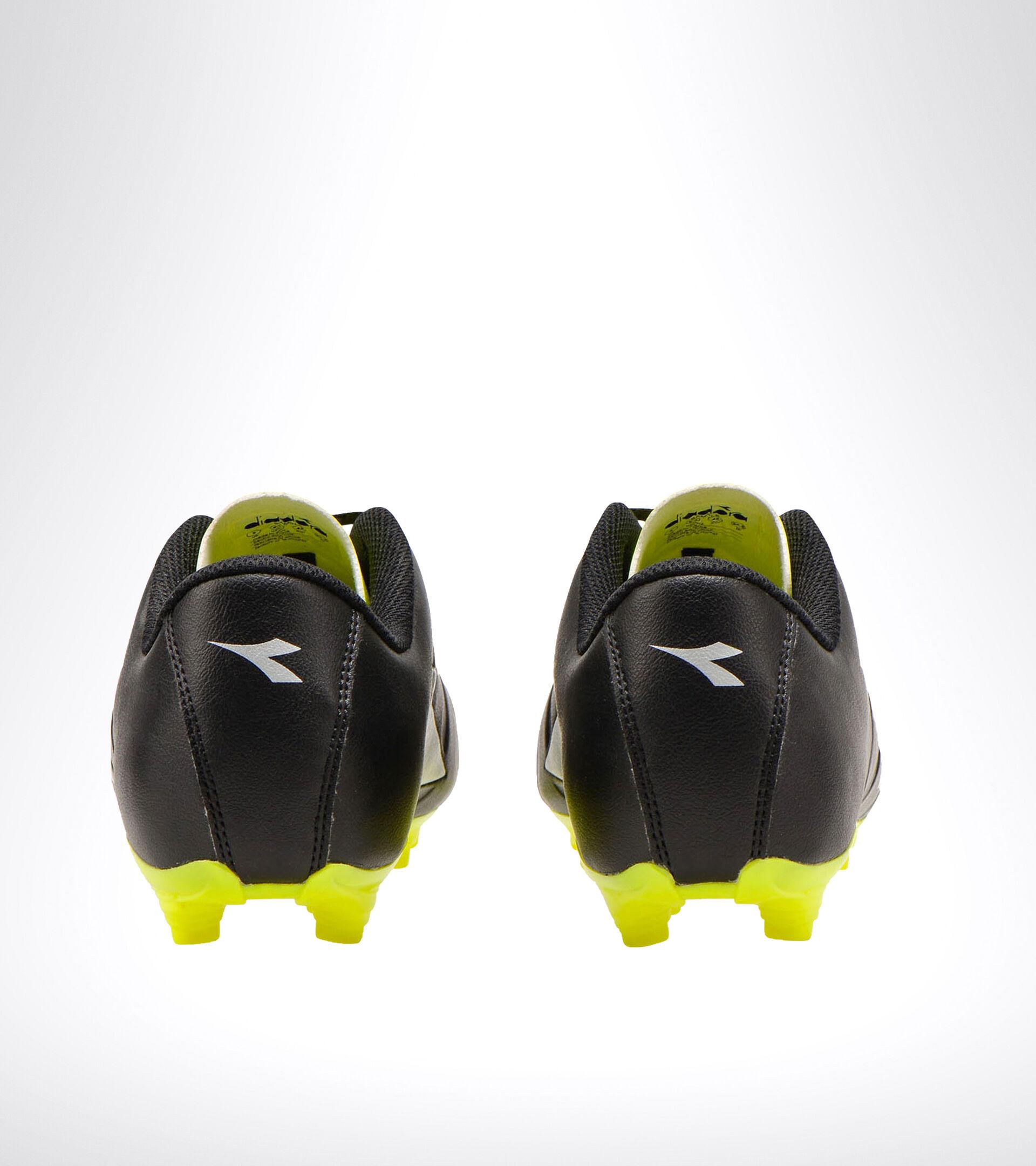 Fußballschuh für kompakte Böden PICHICHI 3 MG14 NERO/GIALLO FL DD/ARGENTO - Diadora
