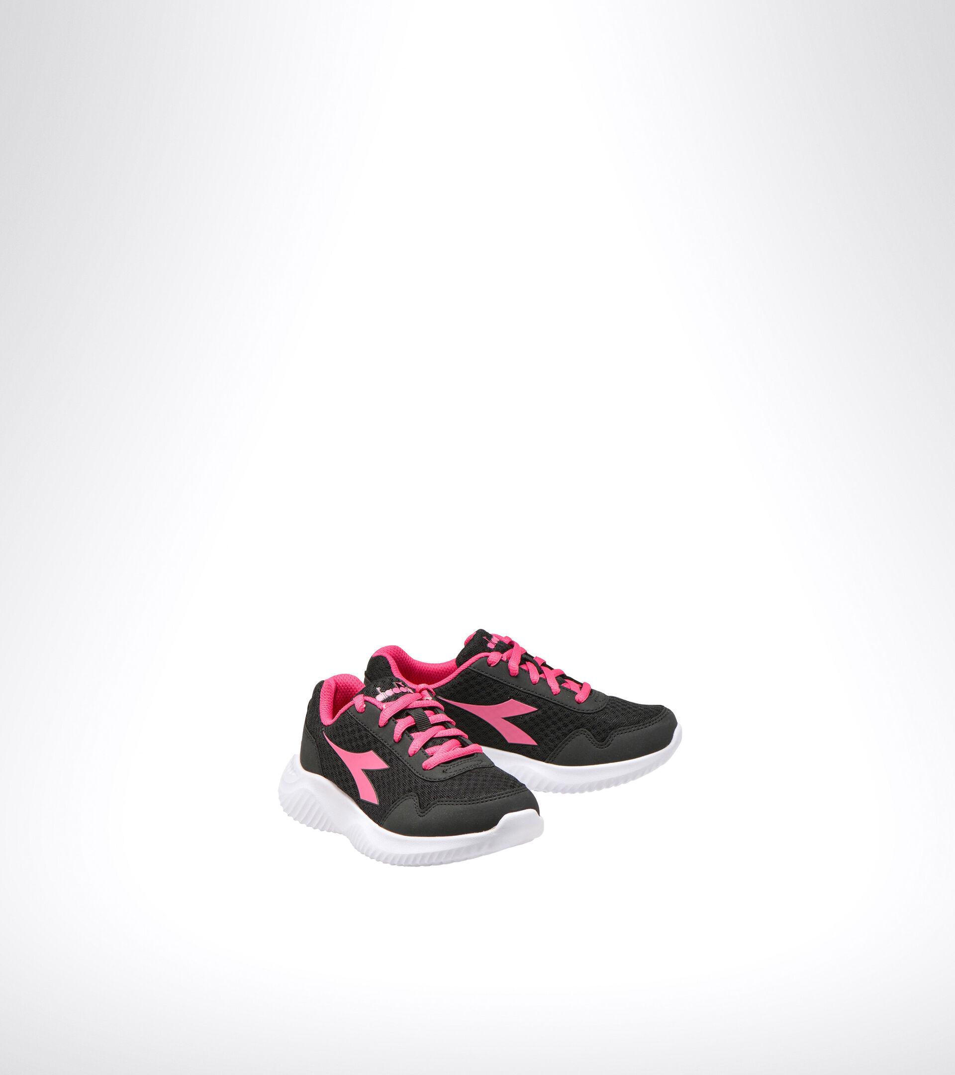 Footwear Sport BAMBINO ROBIN 2 JR BLACK/MAGENTA Diadora