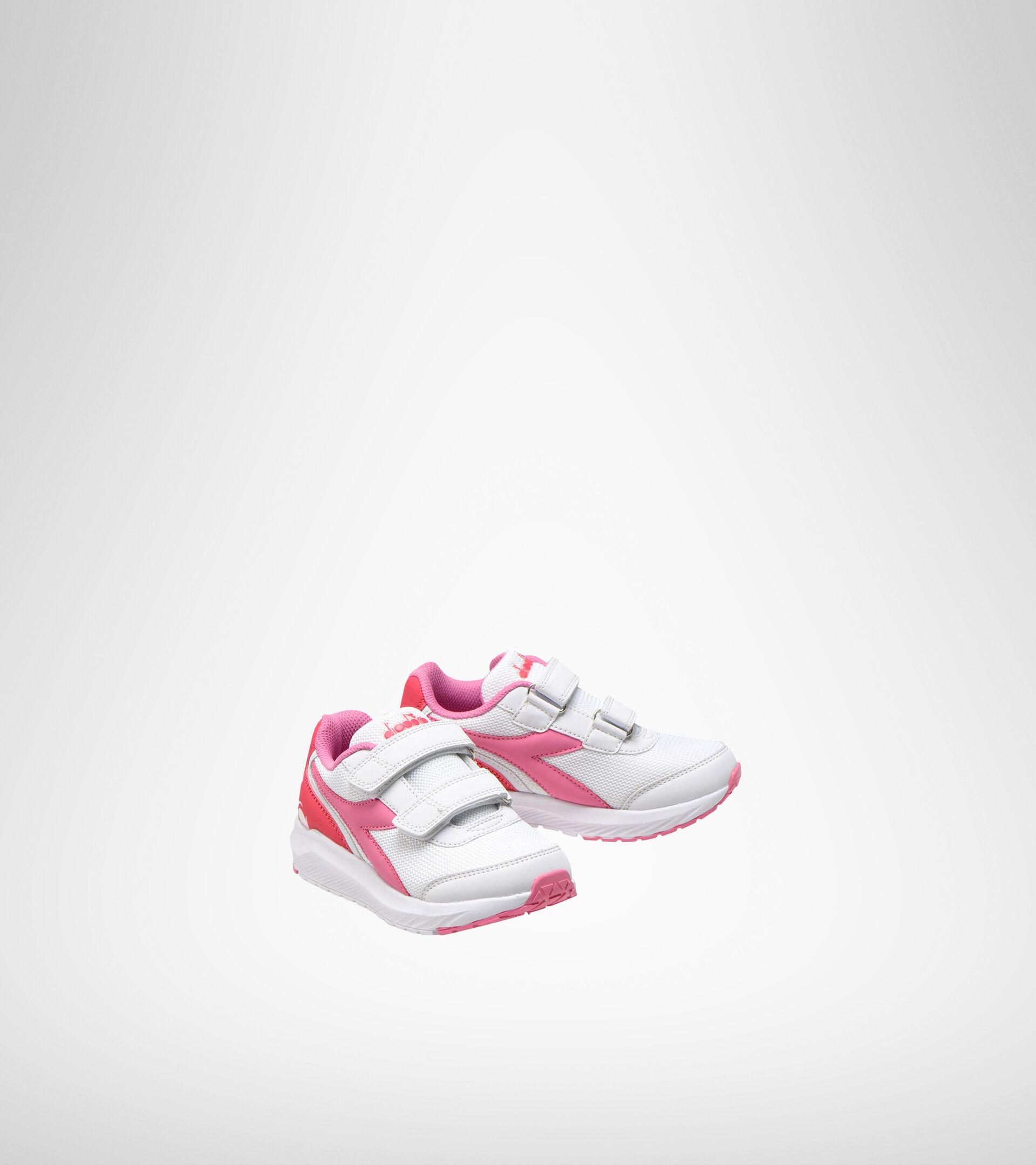 Footwear Sport BAMBINO FALCON JR V WHITE/ORCHID PINK Diadora