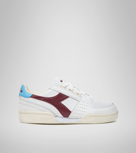 Footwear Sportswear UOMO DAVIS LEATHER BIANCO/ROSSO IMPERO Diadora