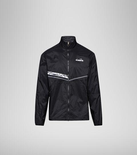 Windproof jacket - Men LIGHTWEIGHT WIND JACKET BE ONE BLACK - Diadora