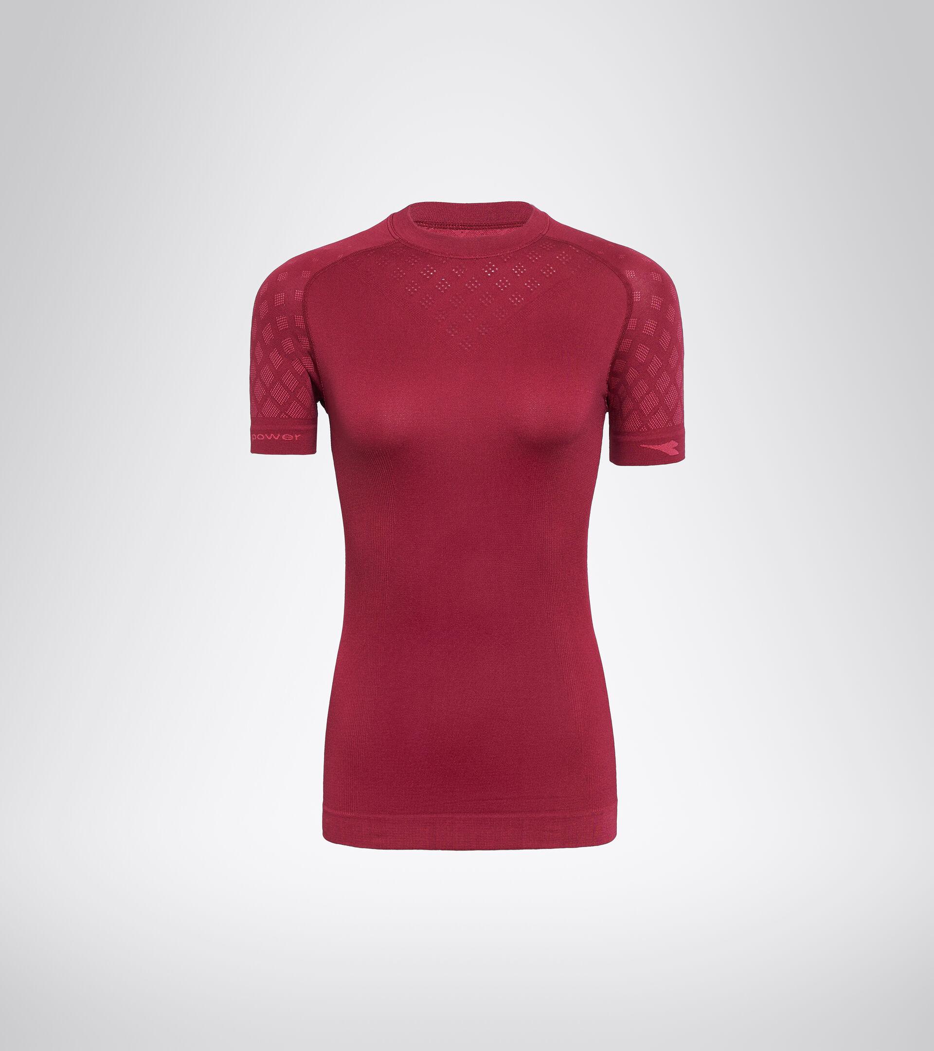 Camiseta de entrenamiento de manga corta - Mujer L. SS T-SHIRT ACT RODODENDRO - Diadora
