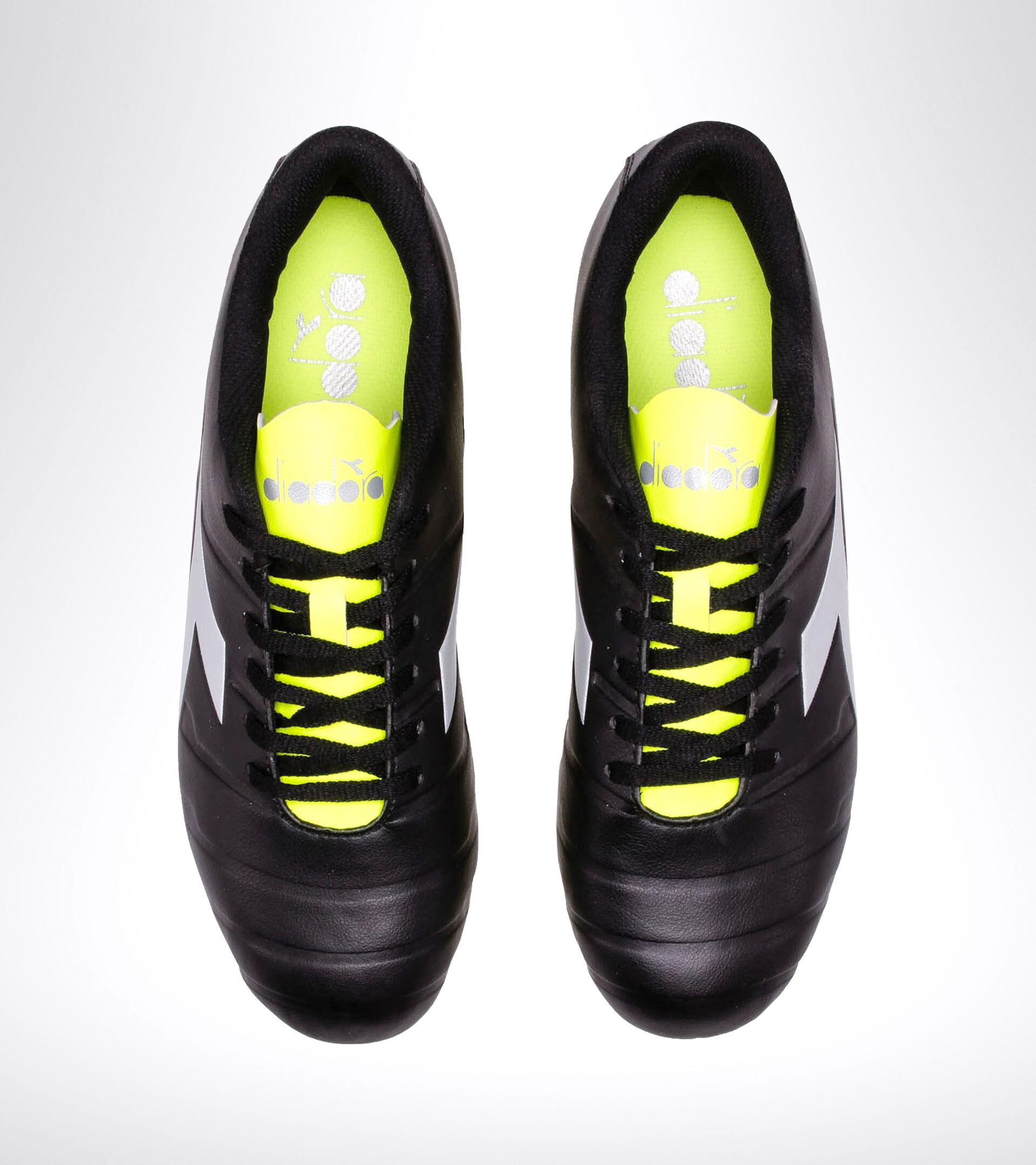 Footwear Sport UOMO PICHICHI 3 MG14 NERO/GIALLO FL DD/ARGENTO Diadora
