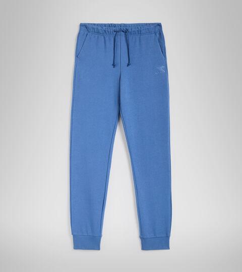 Pantalon de sport - Femme L.PANTS CUFF CORE BLU BIJOU - Diadora