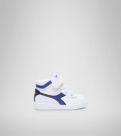 Sports shoes - Toddlers 1-4 years GAME P HIGH TD WHITE/PEACOAT - Diadora