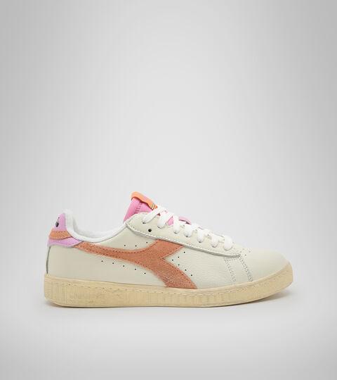 Footwear Sportswear DONNA GAME L LOW ICONA WN CANTALOUPE/PASTEL LAVANDER Diadora