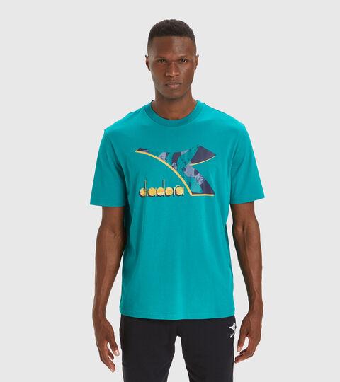 T-shirt - Men T-SHIRT SS SHIELD GREEN SHADOW - Diadora