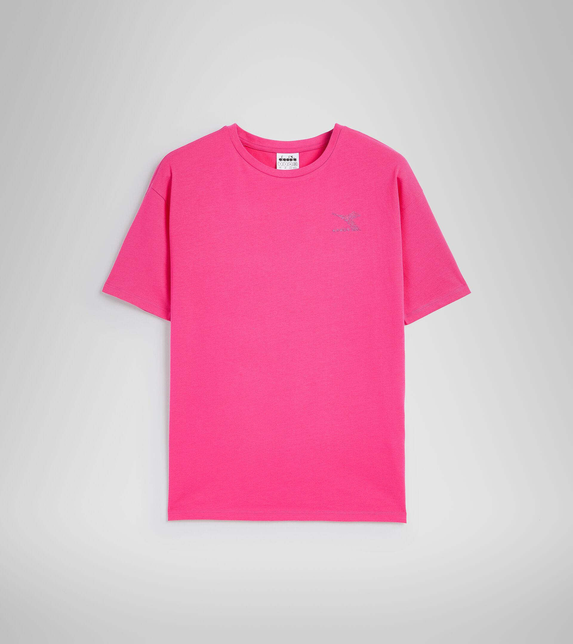 Camiseta - Mujer L.T-SHIRT SS BLINK MAGENTA - Diadora