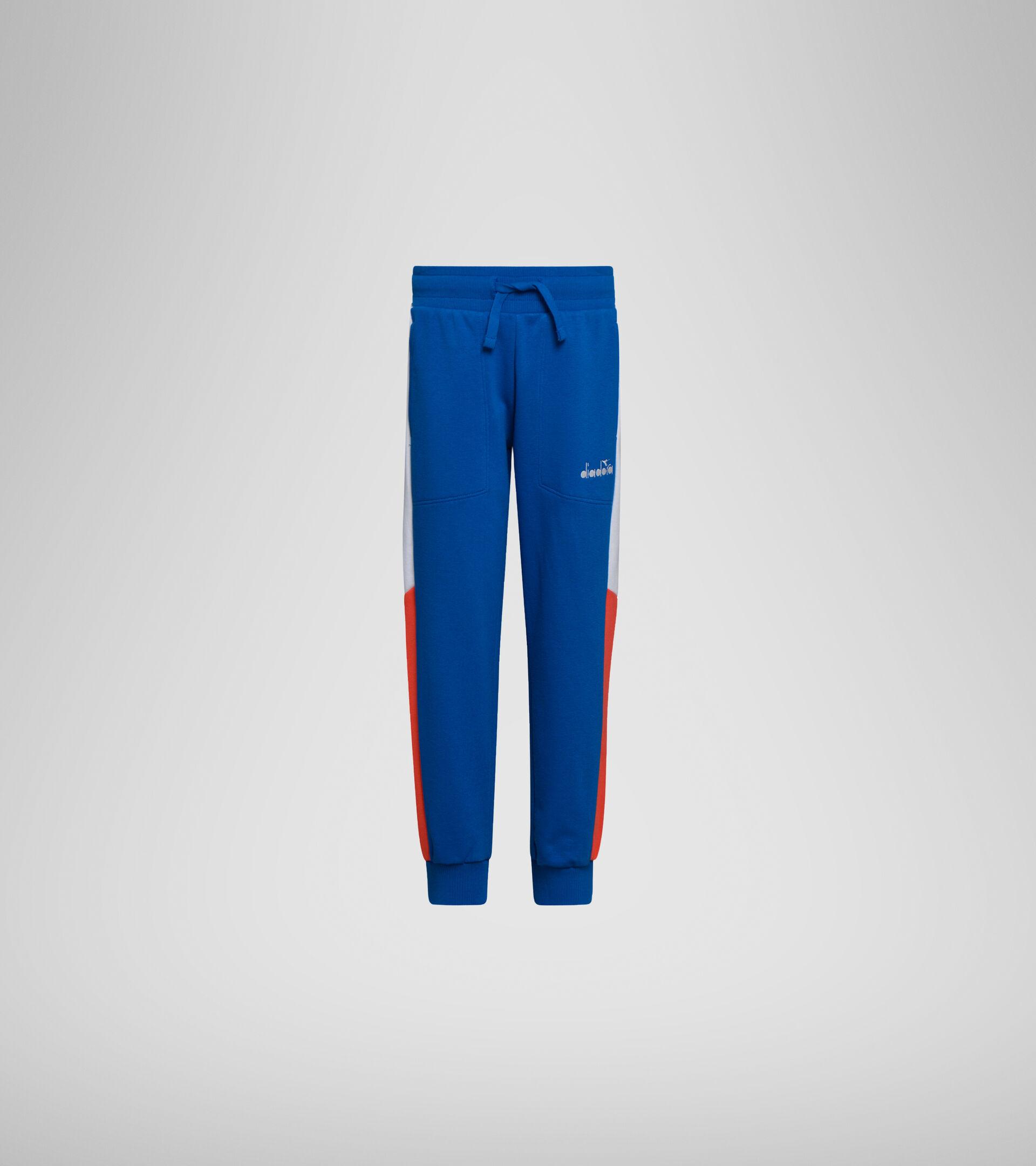 Apparel Sport BAMBINO JB. PANT CUFF DIADORA CLUB MICRO BLUE Diadora