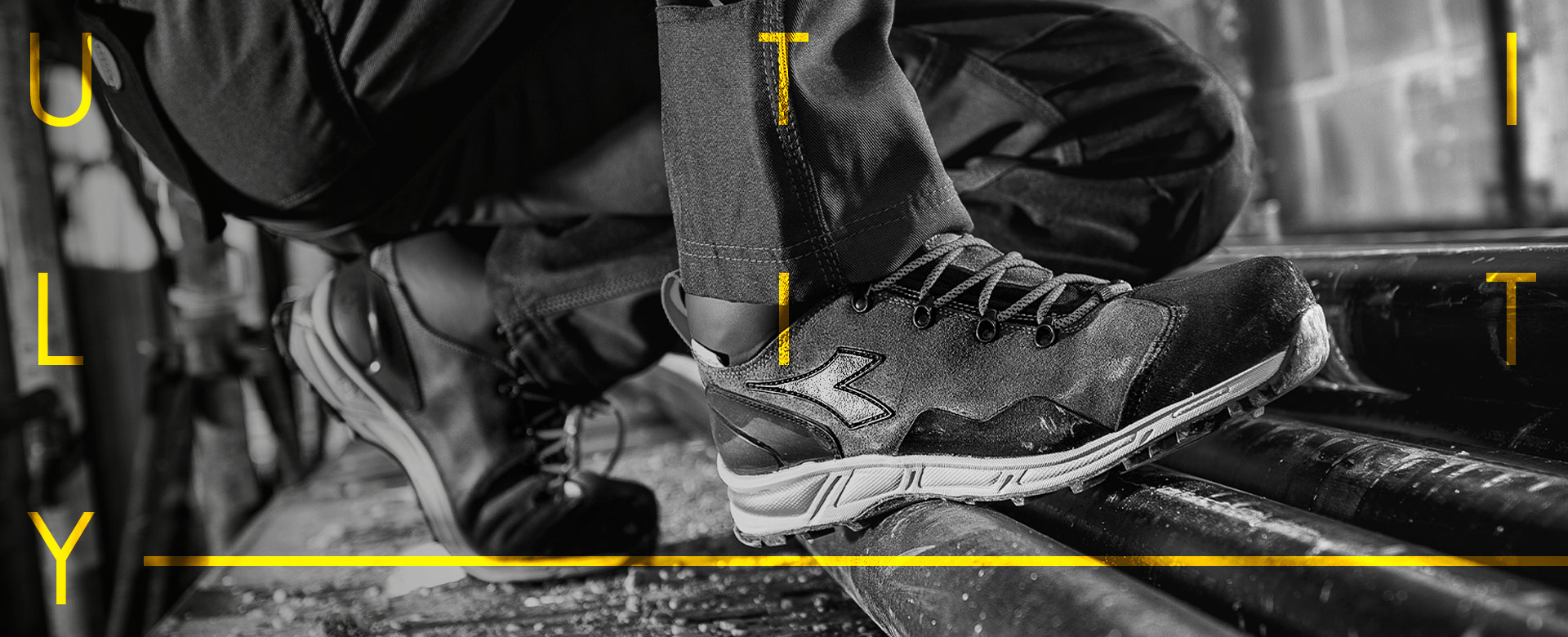 f059ddd2cf Diadora Utility Line: Clothing & Shoes for Accident Prevention ...