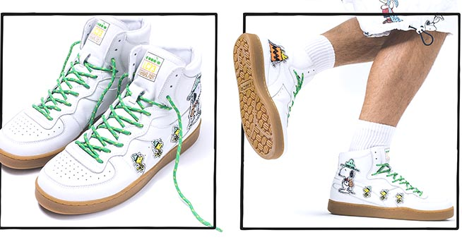 diadora peanuts sneakers off 60% - www