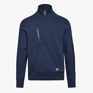 SWEATSHIRT HZ LITEWORK, CLASSIC NAVY, medium