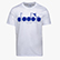 T-SHIRT SS BL, OPTICAL WHITE/IMPERIAL BLUE, swatch