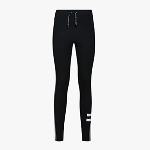 L. LEGGINGS BLKBAR, BLACK, medium
