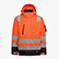 HV JACKET ISO 20471, FLURESCENT ORANGE, swatch