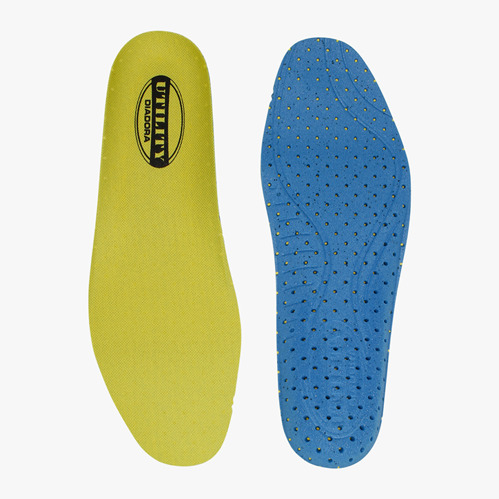 INSOLE RUN PU FOAM, YELLOW UTILITY/NAVY, large