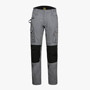 PANT TECH PERF. ISO 13688:2013, STAHLGRAU, medium
