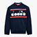 JB.CREWNECK SWEAT 5 PALLE, MARINEBLAU, swatch