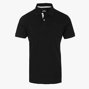 POLO PQ, BLACK, medium
