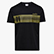 SS T-SHIRT  BLKBAR, BLACK, swatch