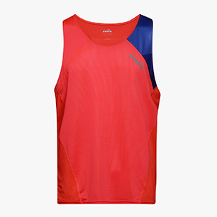 SUPERLIGHT TANK, FLUO LAVA, medium