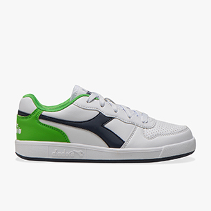 PLAYGROUND GS, WHITE/BLACK IRIS/CLASSIC GREEN, medium