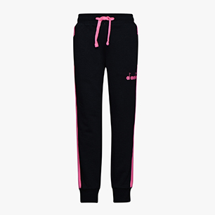 JU. PANTS 5 PALLE, BLACK/PINK PASSION, medium