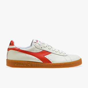 GAME L LOW, WHITE/MOLTEN LAVA, medium