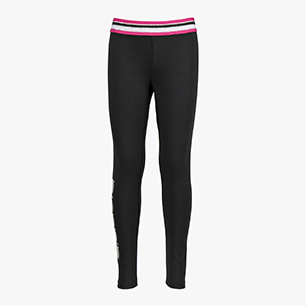 JG.LEGGINS 5 PALLE, NEGRO, medium