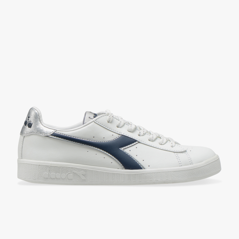 DIADORA GAME P HIGH scarpe sportive donna sneakers casual bianco tennis running