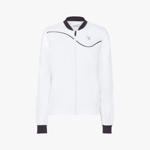 L. JACKET COURT, BLANC OPTIQUE, medium