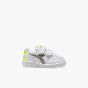PLAYGROUND TD GIRL, WHITE/YELLOW FLUO., medium