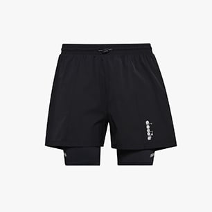 DOUBLE LAYER BERMUDA, BLACK, medium