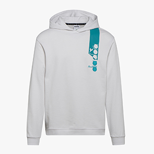 HOODIE ICON, WHITE MILK, medium
