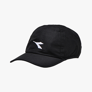 ADJUSTABLE CAP, BLACK/OPTICAL WHITE, medium