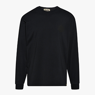BASKET  LONG SLEEVE, BLACK, medium