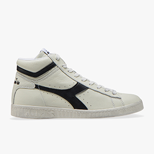GAME L HIGH WAXED, WHITE /BLACK, medium