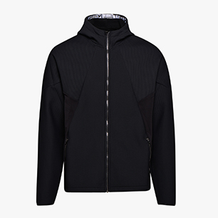 KNIT HD JACKET BE ONE, BLACK, medium