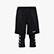 POWER SHORTS BE ONE, NEGRO, swatch