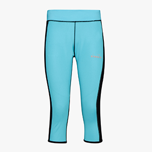 L. 3/4 REVERSIBLE TIGHTS, SKY-BLUE SCUBA, medium