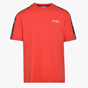 SS T-SHIRT OFFSIDE '95, TOMATO RED, medium