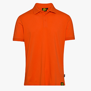POLO MC ATLAR II, NARANJA BERMELLÓN, medium