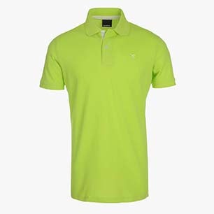 POLO PQ, LIME PUNCH, medium