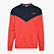 SWEATSHIRT CREW 5PALLE OFFSIDE V, TOMATO RED, swatch