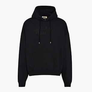 BASKET HOODIE, BLACK, medium