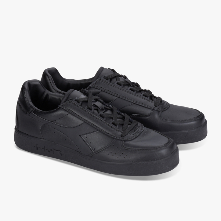 B. ELITE, BLACK/BLACK/BLACK, large