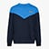 SWEATSHIRT CREW 5PALLE OFFSIDE V, BLEU DENIM, swatch