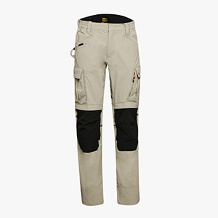 PANT TECH PERF. ISO 13688:2013, GREY HEMP, medium